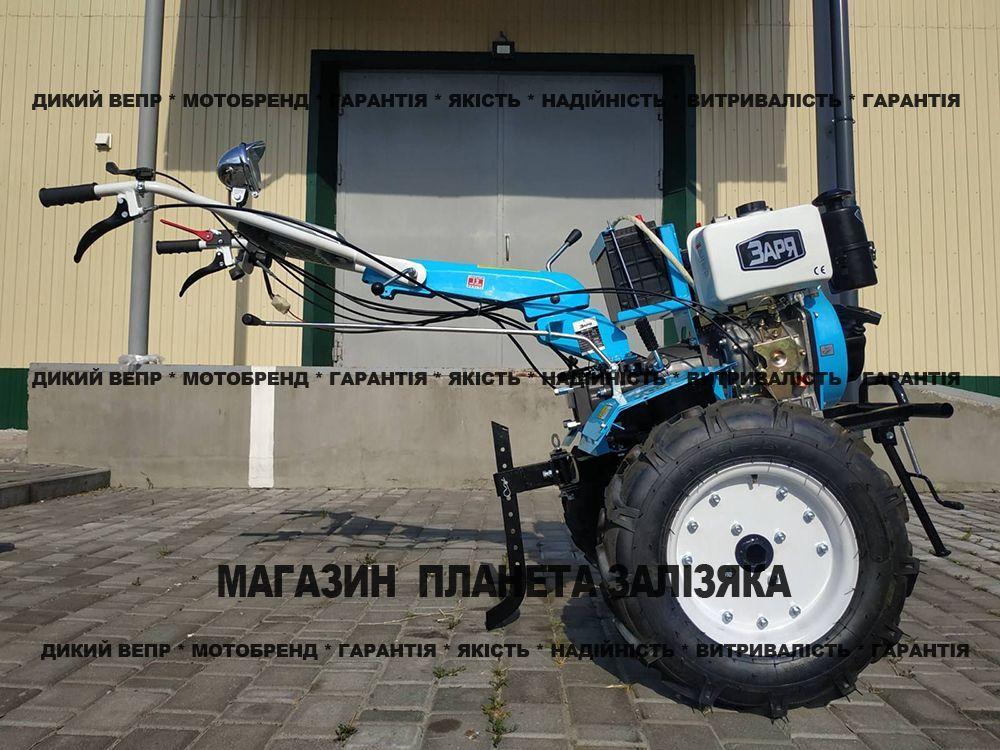 Мотоблок Заря SH 135E Плюс дизельний 9 к.с.