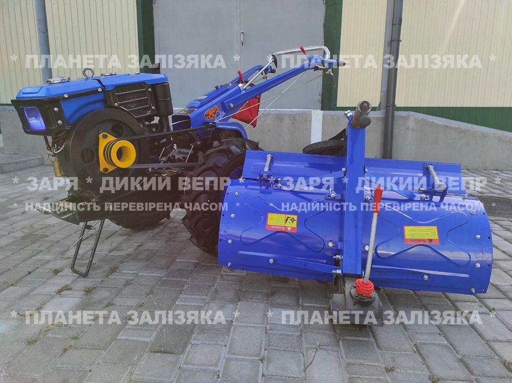 Мотоблок Заря Зубр фреза 10 к.с.