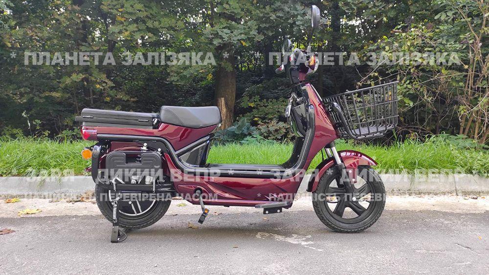 Електровелосипед Zaria Tiger (1500W-60V) червоний