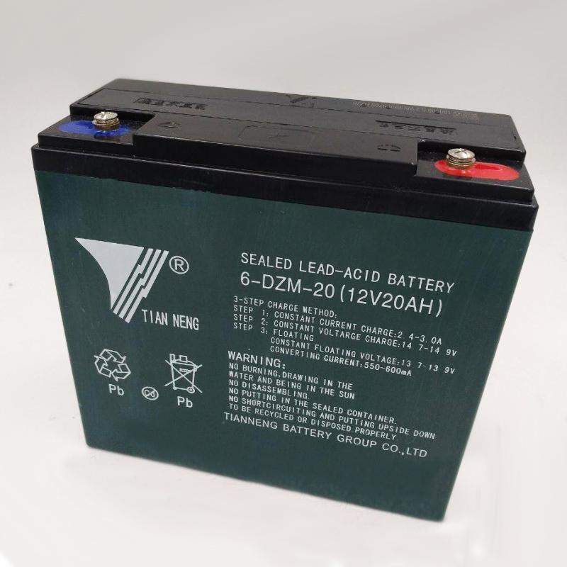 Тягова акумуляторна батарея Tian Neng 6-dZM-20