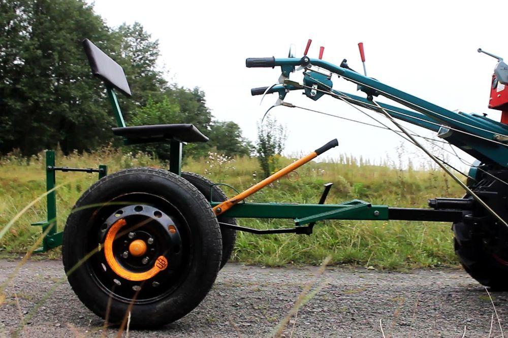 Адаптер Вепр Люкс без колес для мотоблока