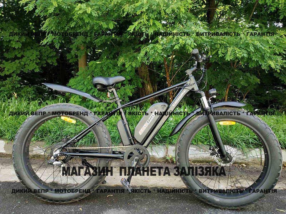 Електровелосипед фетбайк SKYBIKE Calcutta (500W) чорний
