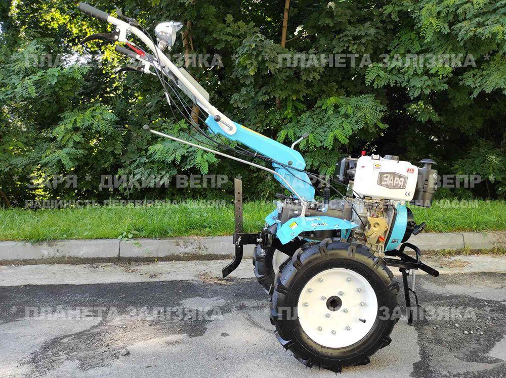 Мотоблок Заря SH 135 Плюс (з КПП Weima) дизельний 9 к.с.