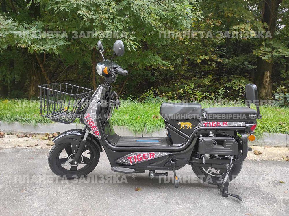 Електровелосипед Zaria Tiger (1500W-60V) чорний