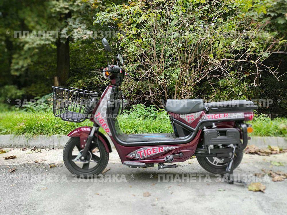 Електровелосипед Zaria Tiger (1500W-72V) червоний