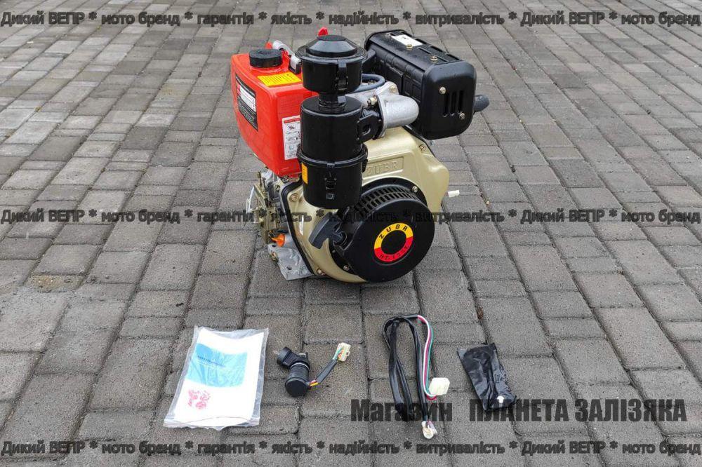 Двигун дизельний Зубр (Zubr) НТ-135Е 9 к.с електростартер