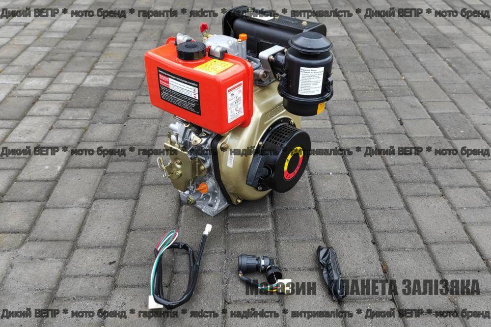 Двигун дизельний ЗУБР (Zubr) XA-31E з електростартером 178F 6 к.с