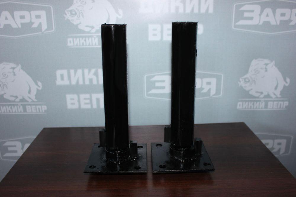 Поворотні подовжувачі ступиць (пара) для мотоблока Заря