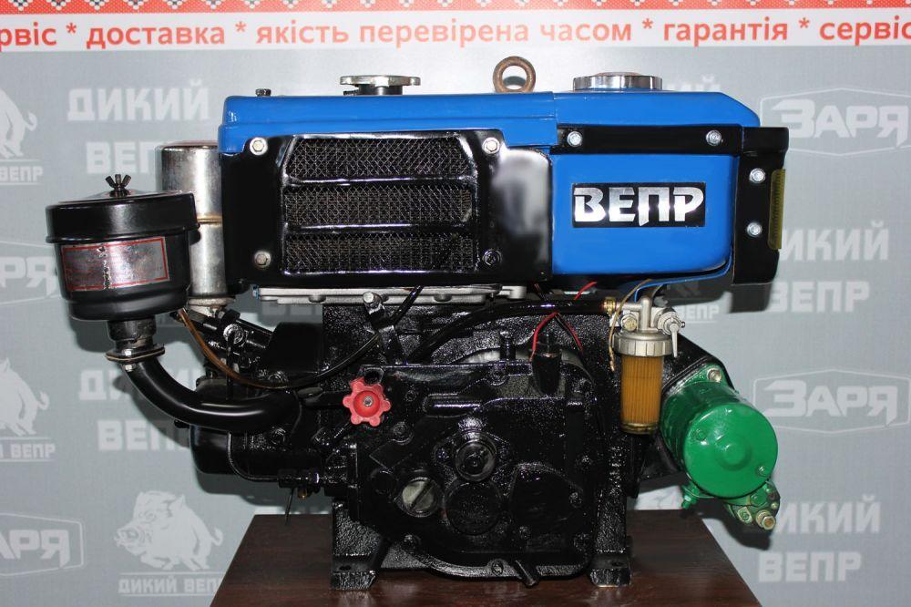 Двигун Вепр з електростартером 8 к.с. R180