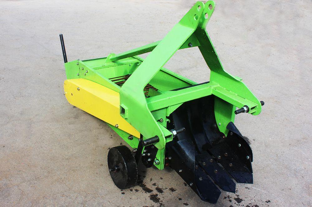 Картоплекопач однорядний для мінітракторів