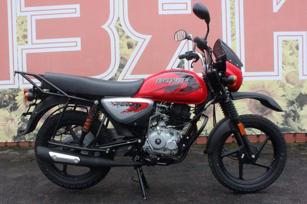 Мотоцикл Bajaj Boxer BM 150Х (КПП 5-ти ступка)