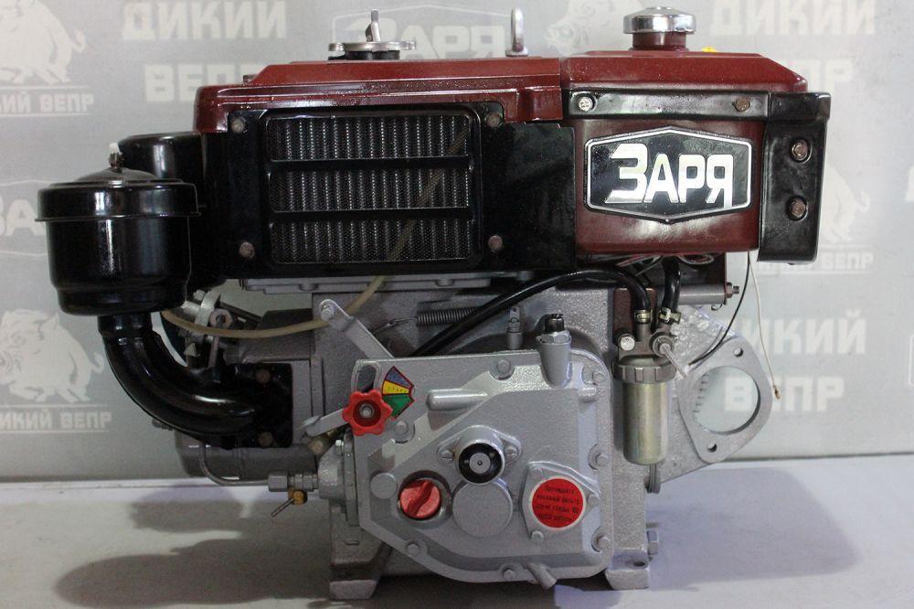 Двигун дизельний  R180 8 к.с. з вінцем та кріпленням під стартер