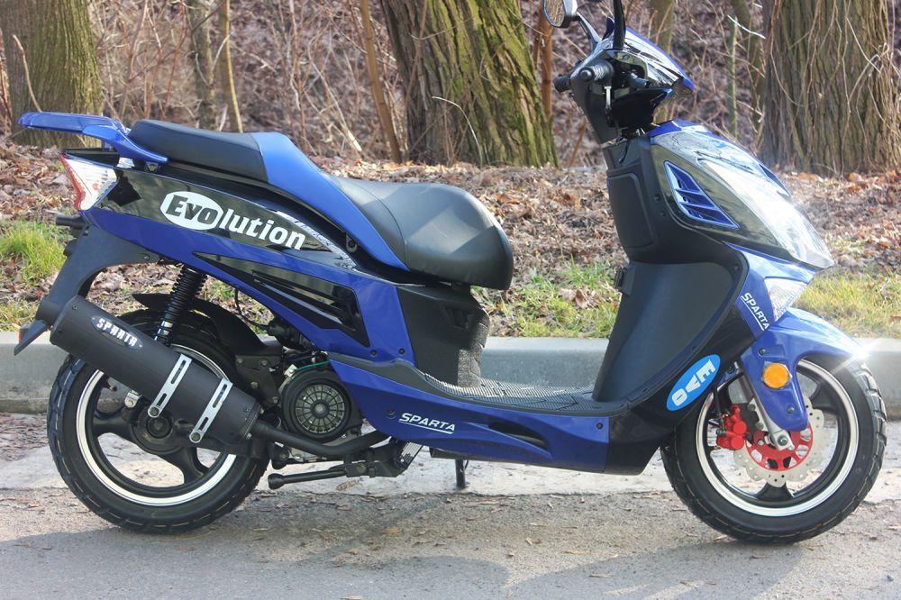 Скутер Sparta Evolution 150cc (Storm)