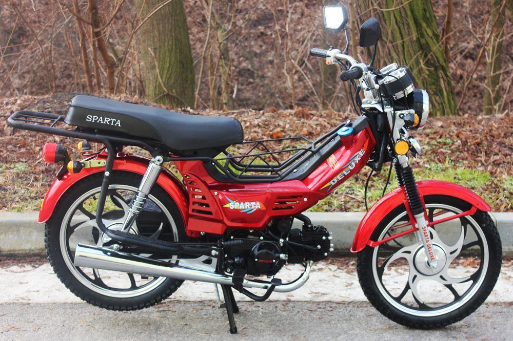 Мотоцикл SPARTA Deluxe 110cc (Delta)