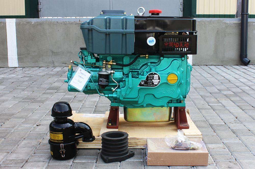 Двигун дизельний КМ138 27 к.с. до мінітракторів