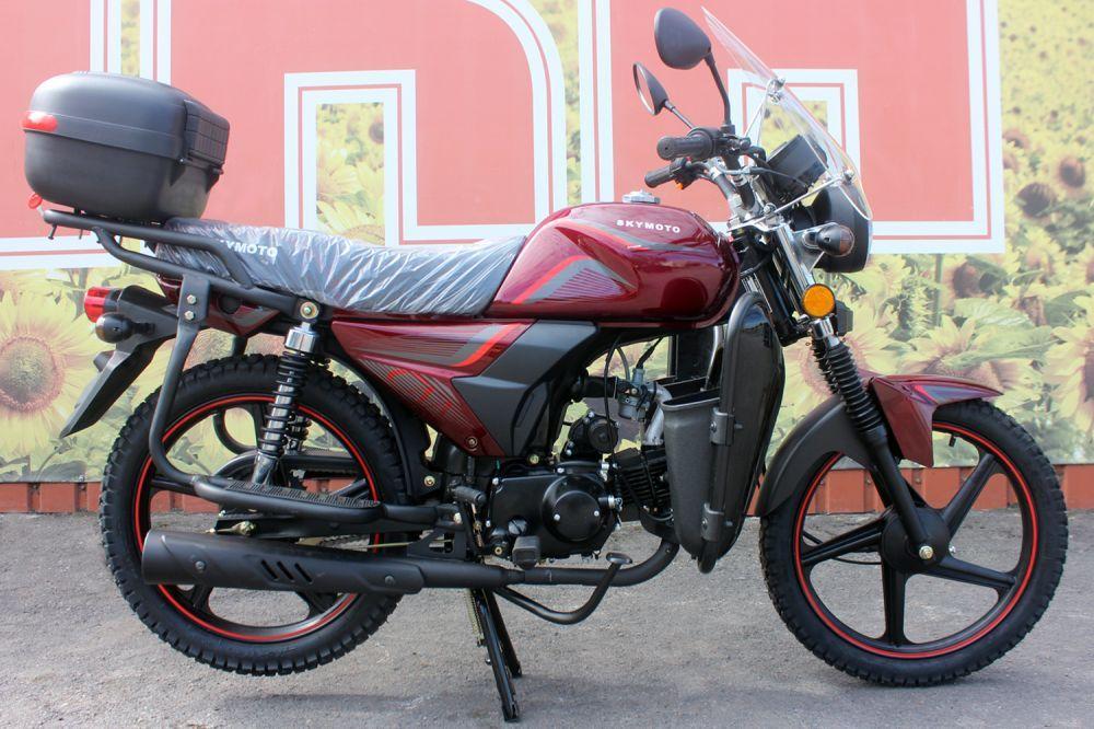 Мотоцикл SkyMoto Worker 110 Red