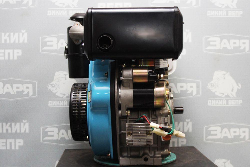 Двигун дизельний Заря 9 к.с. з електростартером
