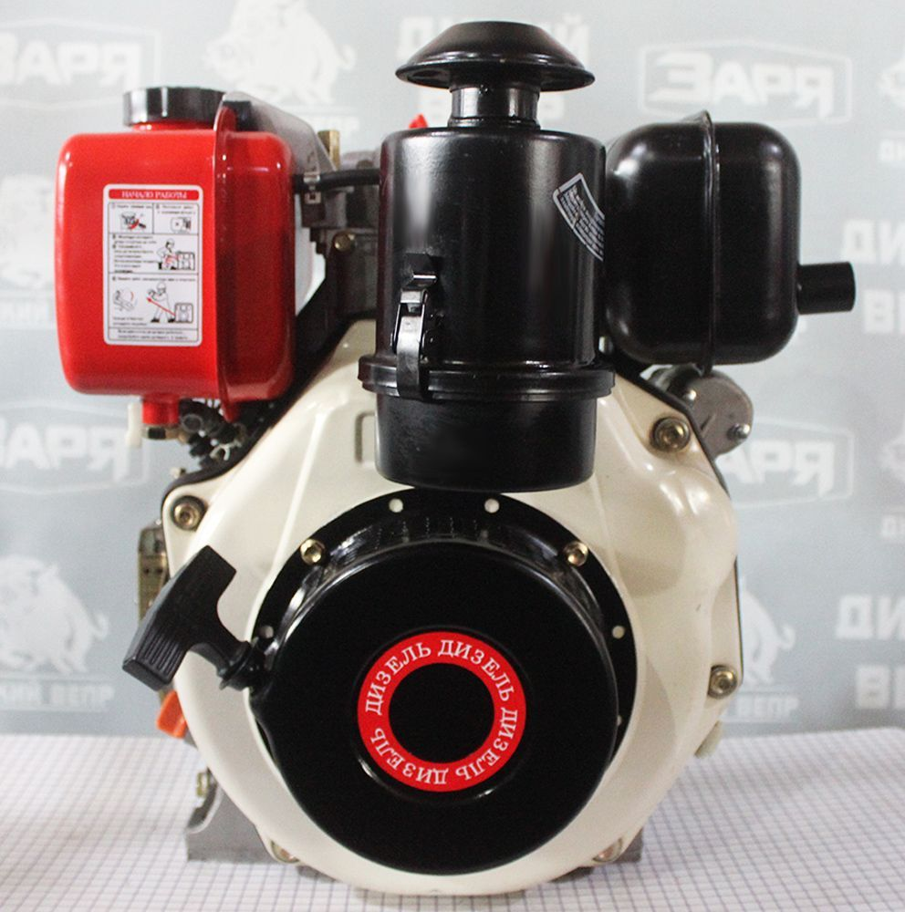 Двигун дизельний 6,5 к.с. Добриня 178FE електростартер