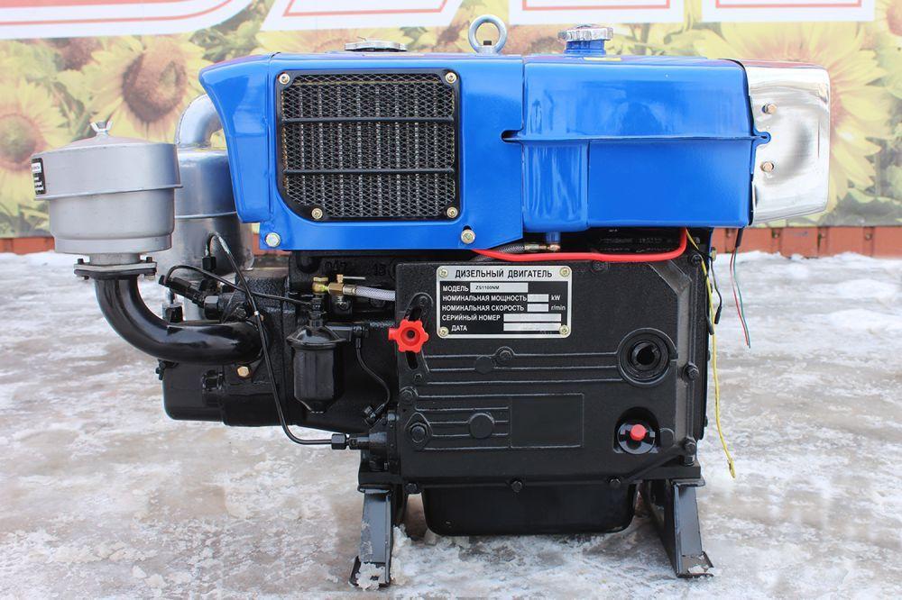 Двигун дизельний Тата 15 ZS1100NM 13.6 к.с. для мотоблока