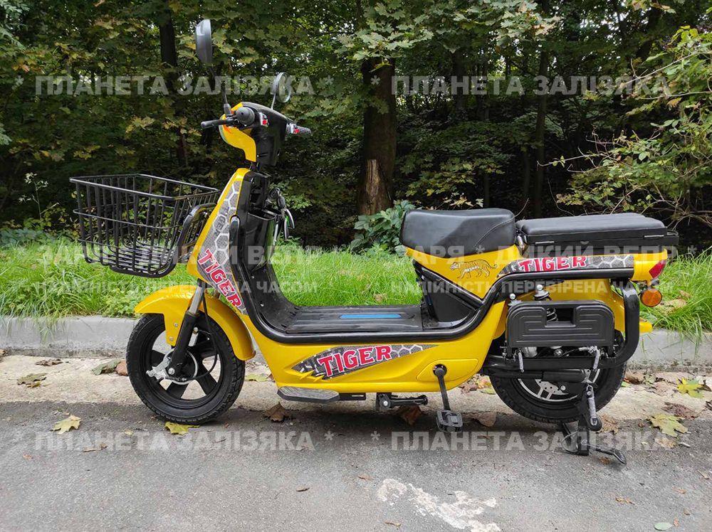 Електровелосипед Zaria Tiger (1500W-60V) жовтий