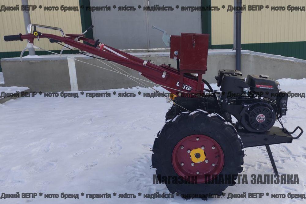 Мотоблок Заря Weima-1 бензиновий 18 к.с. гібридний