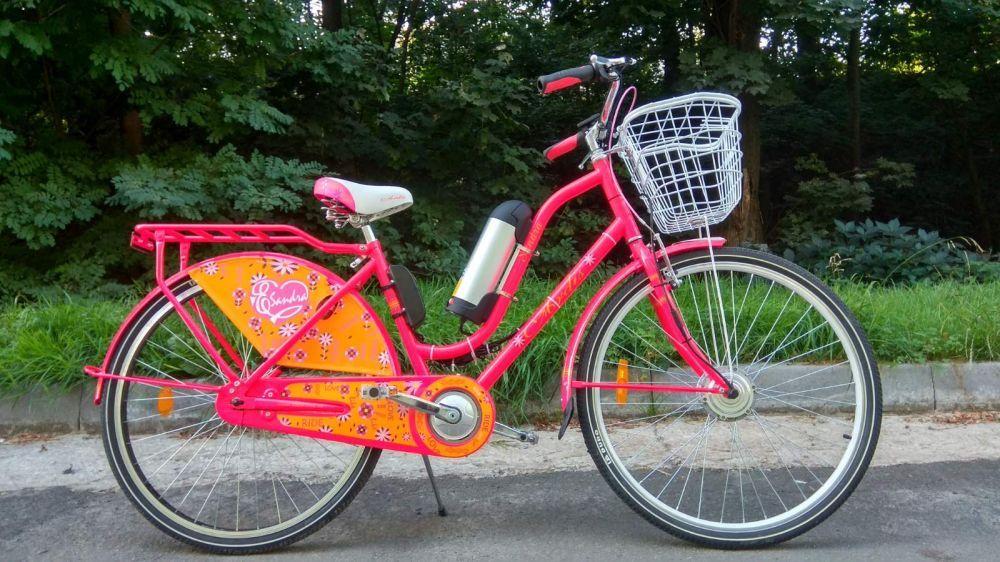 Велосипед з електронабором Sandra 350W Li-ion 36V 10Ah
