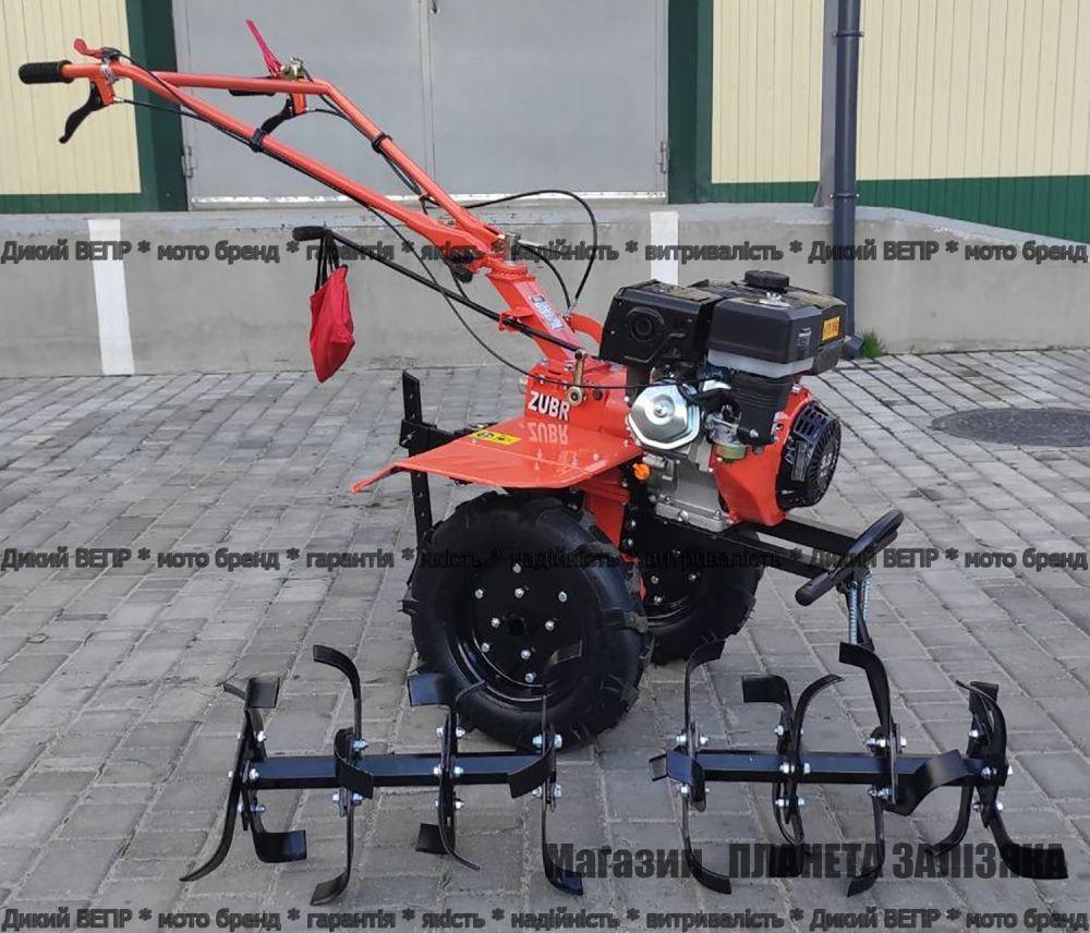 Мотоблок ZUBR Z-16 бензиновий 9 к.с. двигун 177F