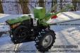 Мотоблок Кентавр 1010ДЕ дизельний 10 к.с. стартер фреза